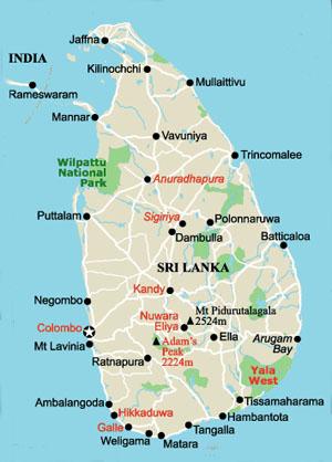 Sri Lanka karta