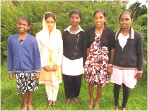 Barngruppen Nelum på Sri Lanka