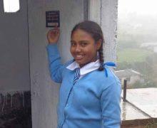 Flicka på Sri Lanka